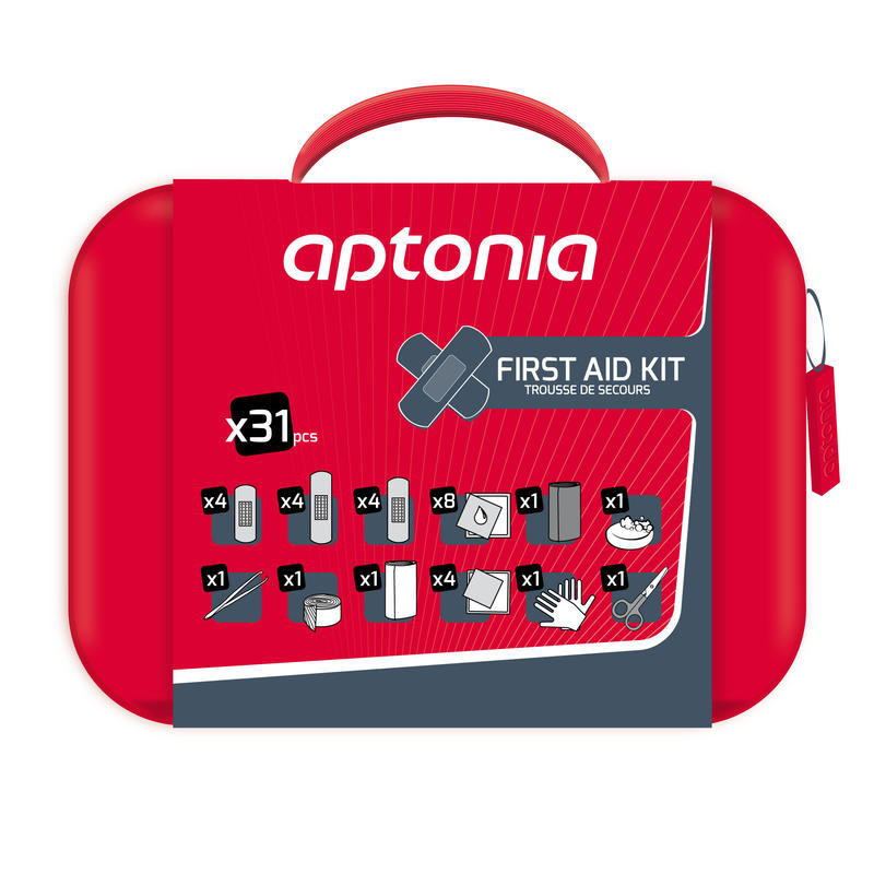 APTONIA 100 31-PIECE FIRST AID KIT
