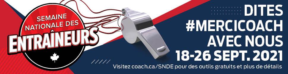 Semaine nationale des entraîneurs